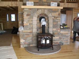 Cultured Stone Hearth  A.M.P. Masonry Inc.