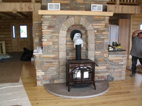 Wood Stove Cement : A m p masonry inc