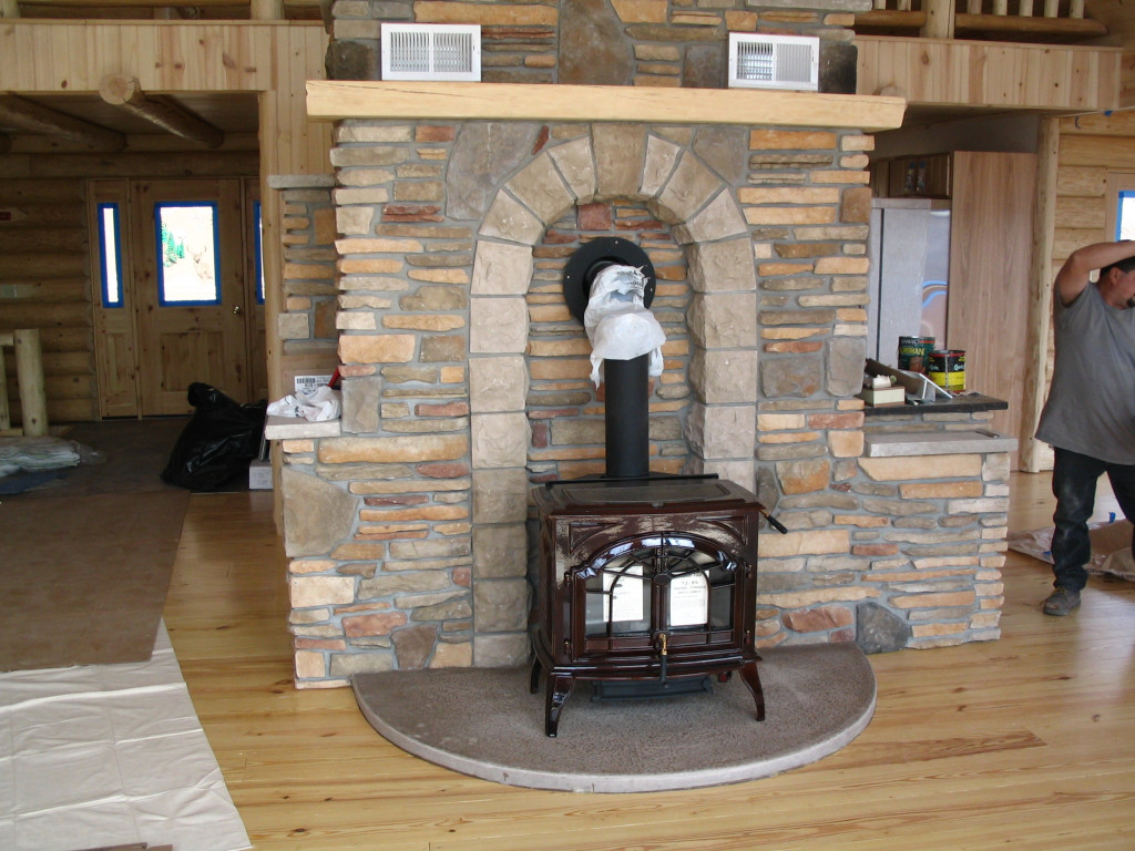 Stone Hearth A M P Masonry Inc
